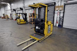 """Yale 3,000 lbs. Capacity, Lift Cap 213"""" Max Lift Height Electric Standing Forklift (4,345 Hours on"""