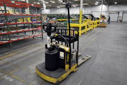 """Yale Electric Pallet Jack 6,000 lbs. Capacity w/ 48"""" Forks & Enforcer SCR Plug-In Charger"""