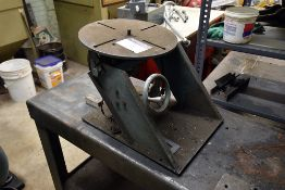 Ransome Welding Positioner 100Lbs. Capacity w/Steel Work Table