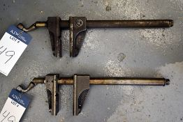 {each} AMF Float Lock Drill Press Vises