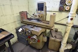 """Blohm-816 Surface Grinder w/ Magnetic Surface Plate (15 1/2"""" x 7 3/4"""") & Dust Collector"""