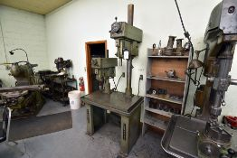 """Clausing 2-Head Gang Drill Press(46""""x29.5""""x35""""H Table) w/Procunier Tooling Heads & Parallels"""