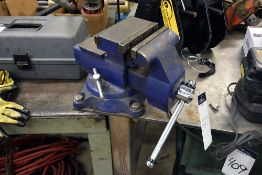 """Wilton 4500 5 1/2"""" Benchtop Vise w/Stainless Steel Work Table (48""""L. x 48 W. x 38"""" H.)"""