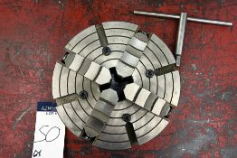 """Poland Number 662479 Serial Number: PUUF-M10D6ZJ 4-Jaw Chuck (10""""x3.5"""")"""