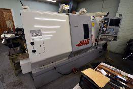 2002 Haas SL30T CNC Lathe Serial Number: 65057, 208v/230v, 3-Phase w/Rexroth Hydraulic Power Unit