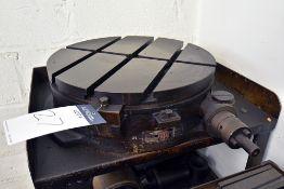 "ATA Rotary Table Model BH18 18"" Turn Table"