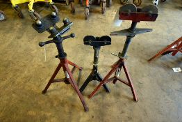 PIPE ROLLER STANDS