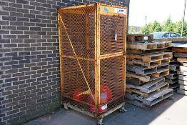 STEEL HAZMAT SECURITY CAGE