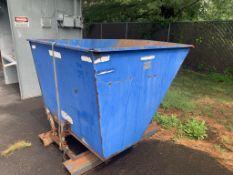 Vestil 1-1/2 Yard, Self-Dumping Hopper