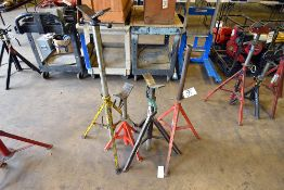 INCOMPLETE PIPE STANDS