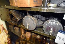 Group of (2) Pneumatic Vise & Metal Working Jigs