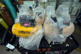 Group of (7) El-O-Matic Actuator Type: ES0350 *NEW* w/2-Tier Push Cart