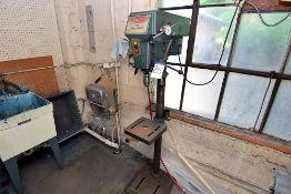 "Dayton Single 15"" Pedestal Mounted Drill Press, 1/2HP"