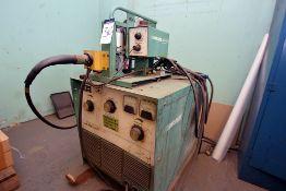 Linde Model Vi-252CV, Welder w/ Mig 31A Wire Feed