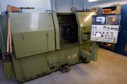 Ikegia FX200II, CNC Lathe w/ 8-Position Turret & Fanuc System 6T DRO (lot #119 is the compatible too