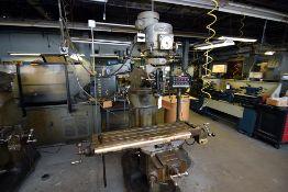 Bridgeport Vertical Milling Machine, 1-1/2 HP w/ Optisyn 500 Digital Read Out