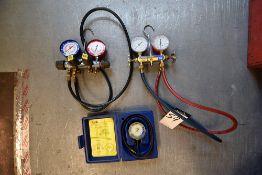 Yellow Jacket Test Kit & Manifolds