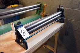 "30"" Roll Bending Machine"