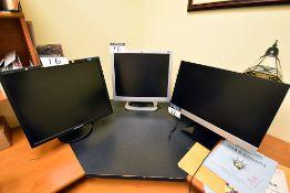 Samsung and HP Monitors