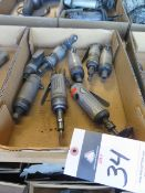 Pneumatic Pin and Angle Grinders (8) (SOLD AS-IS - NO WARRANTY)