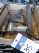 Pneumatic Chisels and Scalers (4) (SOLD AS-IS - NO WARRANTY)