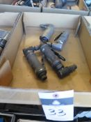 Pneumatic Angle Grinders (4) (SOLD AS-IS - NO WARRANTY)