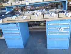 Lista 10-Drawer Maple Top Work Bench (SOLD AS-IS - NO WARRANTY)