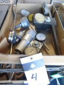 Misc Micrometer Heads Trava-Dials and Dial Indicators (SOLD AS-IS - NO WARRANTY)