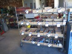 Rolling Wire Frame Shelf (SOLD AS-IS - NO WARRANTY)