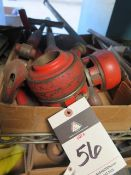 Rigid Pipe Dies, Handles and Cutter (SOLD AS-IS - NO WARRANTY)