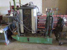 P & H 200 Amp AC/DC Arc Welder w/ Cart