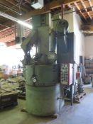 """CM Sandblasting Equipment mdl. CM-1000 Rotary Shot Blasting Machine w/ CM Controls, 39 ½"""" Rotating"""