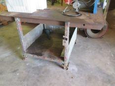 Rolling Welding Table