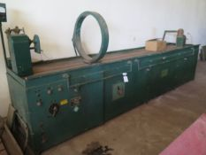"""Sonoflex / Sperry mdl. 6635-556596 144"""" DC Magnetic Particle Inspection Machine s/n 60081 w/ 25"""""""