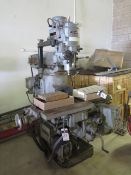 """Makino type KSAM Power Vertical Mill s/n H42-4442 w/ Taper Spindle, Power Feeds, 10"""" x 43"""" Table"""
