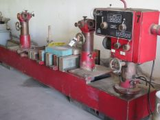 "AMC mdl. L-2500 Line Boring Machine s/n 341 w/ 50-750 RPM, 6-Speeds, 100"" Max Boring Length, 12.7"""