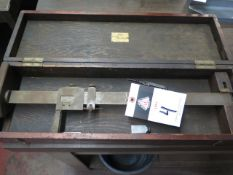 """Grey & Rushton 18"""" Vernier Height Gage (SOLD AS-IS - NO WARRANTY)"""
