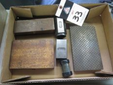 Planer Gage, Sine Bar, Lapping Plate and 5C Collet Blocks (SOLD AS-IS - NO WARRANTY)