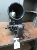 MicroVu mdl. 400 Optical Comparator (NO SCREEN - FOR PARTS) (SOLD AS-IS - NO WARRANTY)