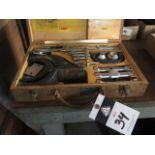 Holdridge 4-D Radii Cutter Set (SOLD AS-IS - NO WARRANTY)