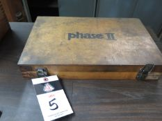 """Pin Gage Set .061""""-.250"""" (SOLD AS-IS - NO WARRANTY)"""