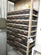 Hareware, Bins and Shelf (SOLD AS-IS - NO WARRANTY)