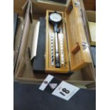 """Teclock 2""""-6"""" and Mercer .875""""-1.4"""" Dial Bore Gages (SOLD AS-IS - NO WARRANTY)"""
