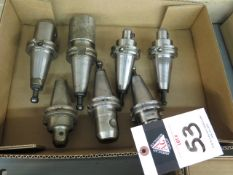 CAT-40 Taper Balanced Tooling (7) (SOLD AS-IS - NO WARRANTY)