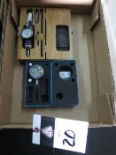 Dowler Digital Test Indicator and Blake Universal Dial Indicator (SOLD AS-IS - NO WARRANTY)
