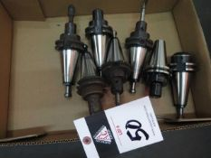 CAT-40 Taper Tooling (7) (SOLD AS-IS - NO WARRANTY)