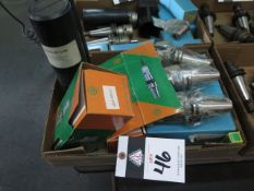 CAT-40 Taper Drill Chucks and Collet Chucks (7 - NEW) (SOLD AS-IS - NO WARRANTY)