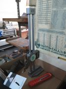 """Mitutoyo 12"""" Dial Height Gage (SOLD AS-IS - NO WARRANTY)"""