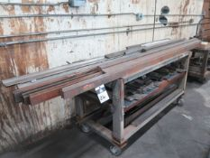 Press Brake Tooling w/ (3) Carts (SOLD AS-IS - NO WARRANTY)