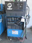 Miller Syncrowave 250 CC-AC/DC Arc Welding Power Source s/n KK107764 w/ Miller Cooler (SOLD AS-